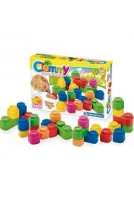 Set joaca cu 24 cuburi colorate Clementoni