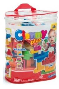 Plasa cu 30 cuburi Clementoni