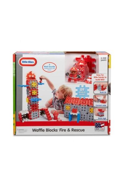 Blocuri de constructie Sectie Pompieri Little Tikes