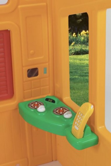 Casuta de joaca copii cu sonerie Little Tikes