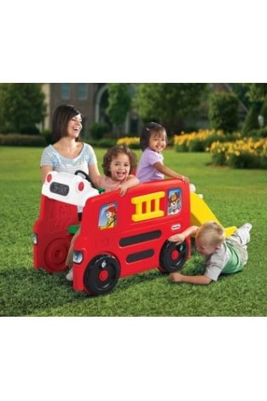 Masinuta Pompieri cu activitati Little Tikes