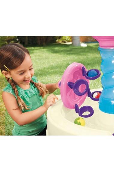 Masuta de joaca roz cu apa Spirala Little Tikes