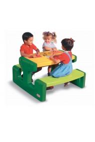 Masuta pentru picnic verde Little Tikes