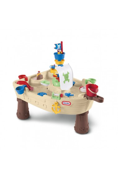 Masuta de joaca cu apa Nava Pirat Little Tikes