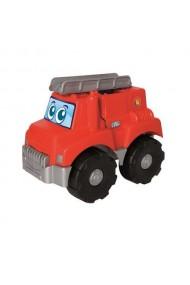 Masinuta de pompieri cu 15 cuburi Abrick Ecoiffier
