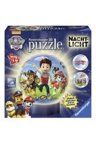 Puzzle 3D eroii Paw Patrol 72 piese Ravensburger