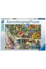 Puzzle adulti paradis Gradinar 2000 piese Ravensburger