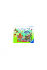 Puzzle animale din ocean 35 piese Ravensburger