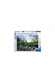 Puzzle copii si adulti valea Yosemite 1000 piese Ravensburger