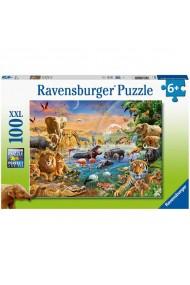 Puzzle izvor in jungla 100 piese Ravensburger