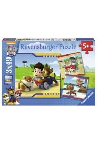 Puzzle Patrula Catelusilor M2 3X49 piese Ravensburger