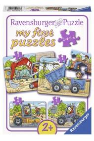 Puzzle Santier 2/4/6/8 piese Ravensburger