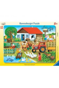 Puzzle unde sa il asez 15 piese Ravensburger
