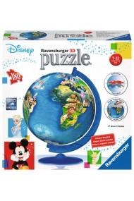 Puzzle 3D globul Disney 180 piese Ravensburger