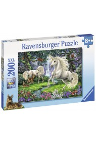 Puzzle unicornii mistici 200 piese Ravensburger
