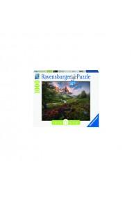 Puzzle copii si adulti Vale de munte 1000 piese Ravensburger