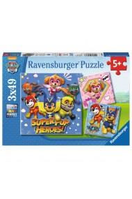 Puzzle Patrula Catelusilor 3X49 piese Ravensburger