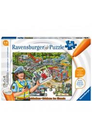 Puzzle TipToi constructii 100 piese Ravensburger