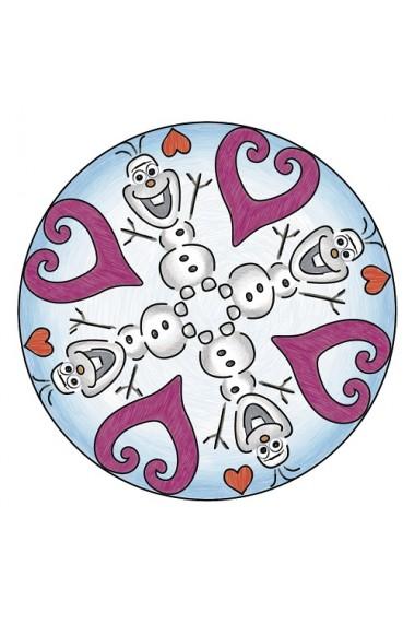 Planse de desen mini mandala Frozen Ravensburger