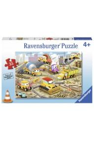 Puzzle santier in lucru 35 piese Ravensburger