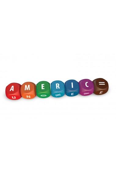 Joc cu zaruri ABC formeaza cuvinte CreativaMente
