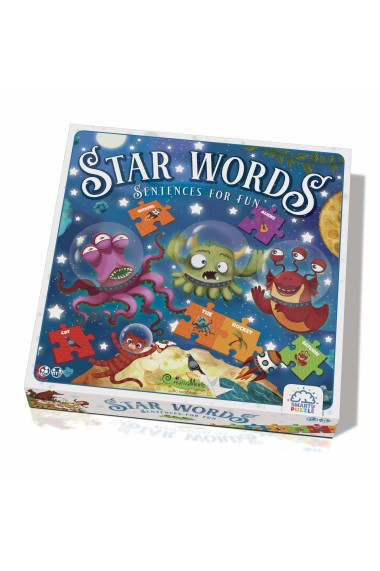 Joc educativ Smarty puzzle Star Words CreativaMente