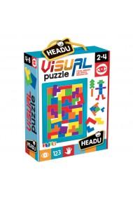 Joc educativ puzzle vizual Headu