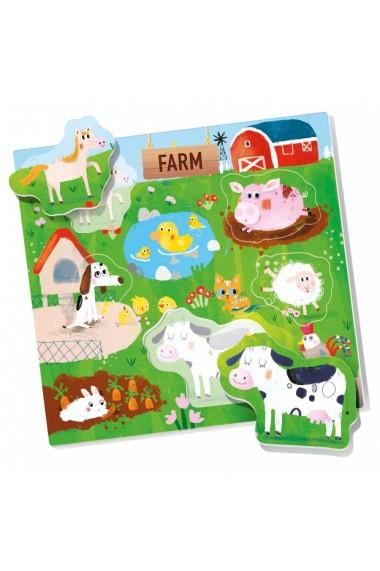 Joc Montessori potriveste animalele Headu