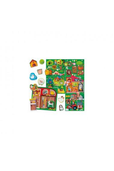 Montessori joaca la ferma Headu