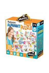 Puzzle Alfabet 3D Headu