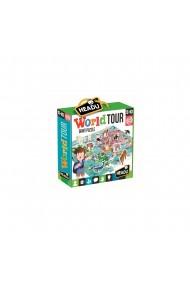 Puzzle turul lumii 108 piese Headu