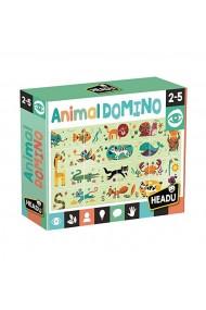 Joc domino puzzle animale Headu