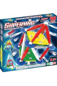 Set constructie magnetic 48 piese Classic Primary Supermag