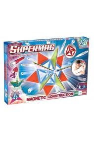 Set constructie magnetic Trendy 67 piese Supermag