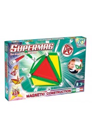 Set constructie magnetic Primary 67 piese Supermag
