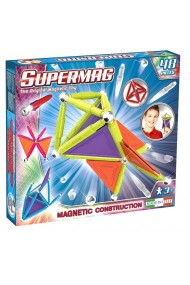 Set constructie magnetic Trendy 48 piese Supermag