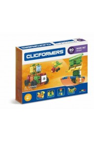 Set constructie Clicformers Basic 90 piese Clics Toys