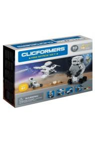 Set constructie Clicformers Mini Spatiu 30 piese Clics Toys