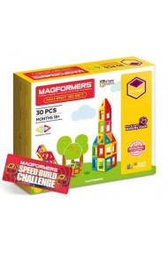 Set constructie magnetic Magformers 30 piese baza Clics Toys