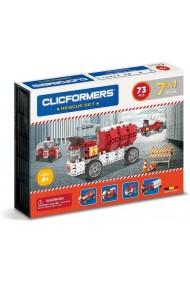 Set constructie Masini de interventie Clicformers 73 piese