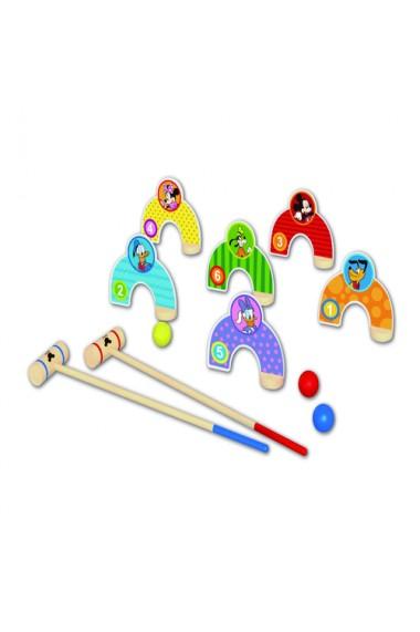 Joc indemanare si dexteritate din lemn personaje Disney
