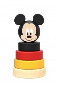 Mini piramida de stivuit inele din lemn si Mickey Disney