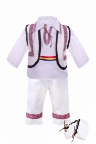 Costum traditional 5 piese de botez baieti dae100