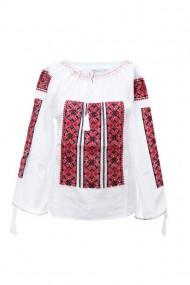 Bluza dama tip ie brodata traditionala Alb dae5766