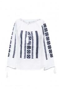 Bluza dama tip ie brodata traditional Alb dae5772