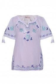 Bluza dama tip ie Alb dae565