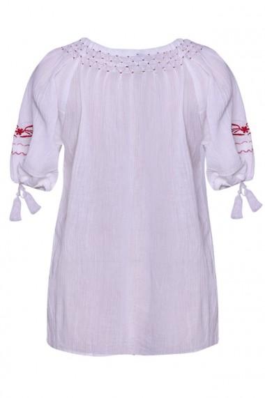 Bluza dama tip ie Alb dae541