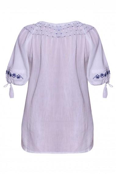 Bluza dama tip ie Alb dae538