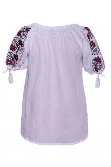 Bluza dama tip ie Alb dae530