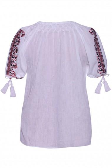 Bluza dama tip ie Alb dae521